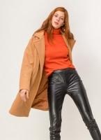 Παλτό από συνθετικό μαλλί προβάτου - Κάμελ - TheFashionProject 56e133c7668