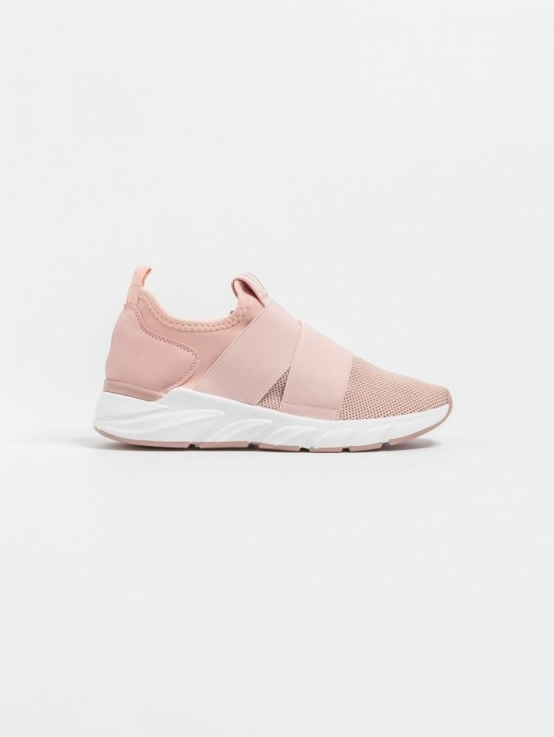 Αθλητικό παπούτσι-κάλτσα με λάστιχα - Ροζ - TheFashionProject 8adbb6065a0