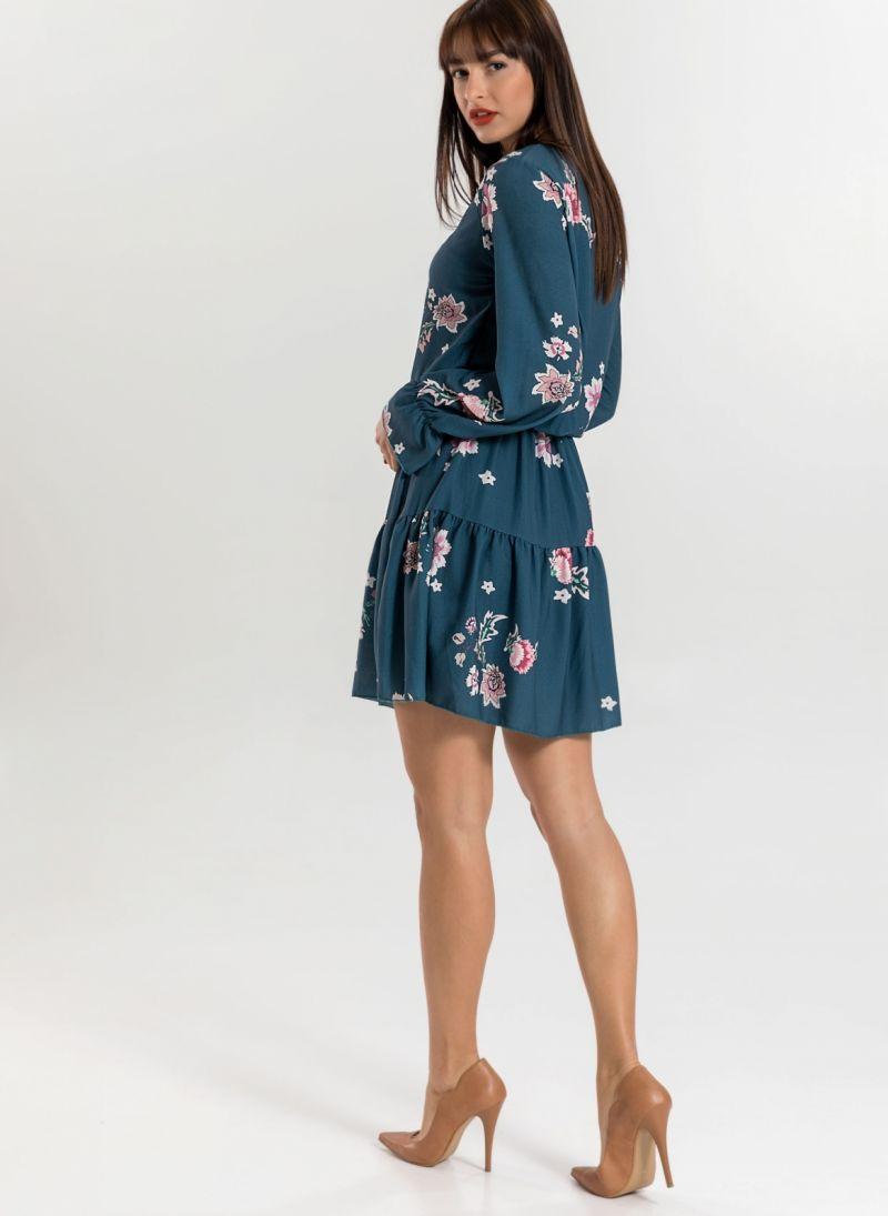 Φόρεμα με λουλούδια
