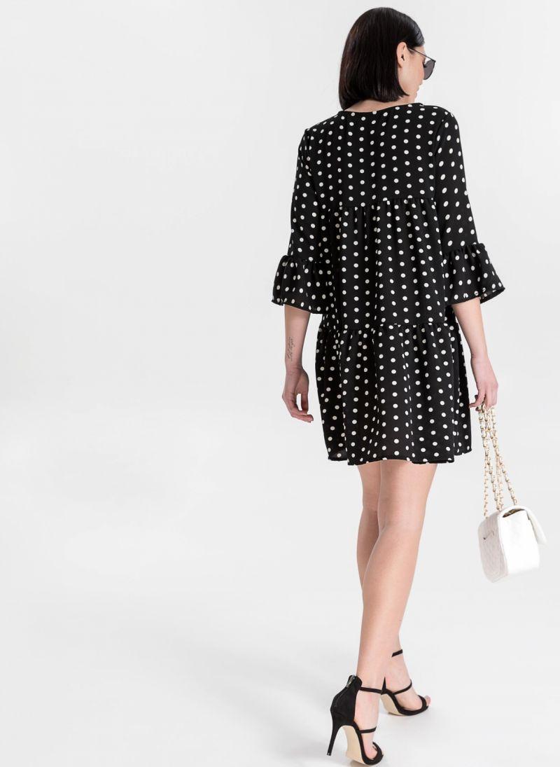 Φόρεμα πουά