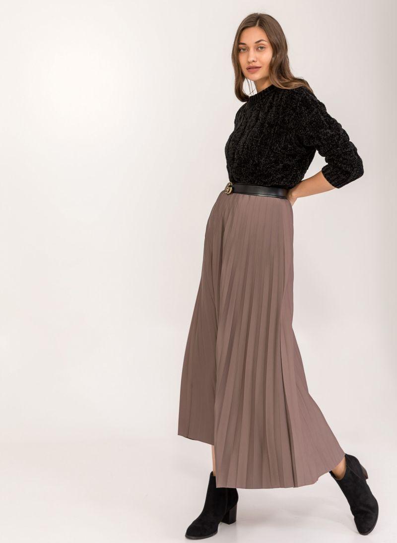 Maxi πλισέ φούστα - Πούρο - TheFashionProject 30712b2d1b4