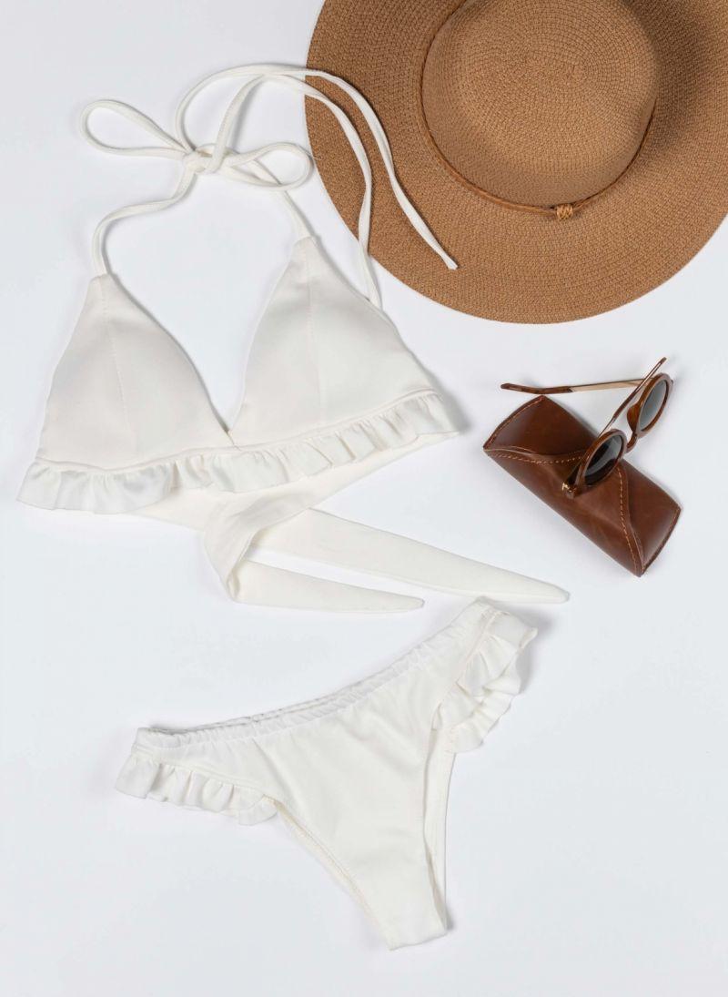 Σετ brazilian bikini με βολάν
