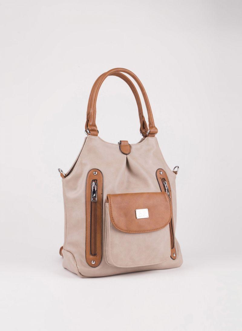 Τσάντα ώμου πλάτης - Πούρο - TheFashionProject 1a7f6f5d735