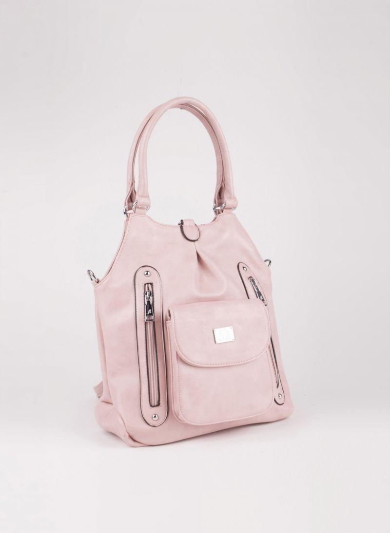 f5ff303c921 Τσάντα ώμου/πλάτης - Ροζ - TheFashionProject