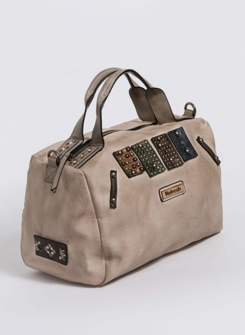 Xti τσάντα χειρός με λεπτομέρειες τρουκς