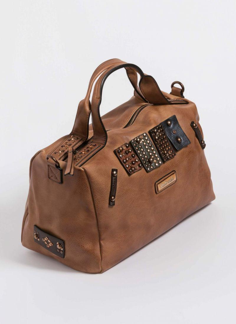 Xti τσάντα χειρός με λεπτομέρειες τρουκς - Ταμπά - TheFashionProject 1bee8394ac6